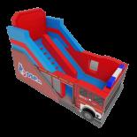 Wóz strażacki - Ślizg dla dzieci - zjeżdzalnia