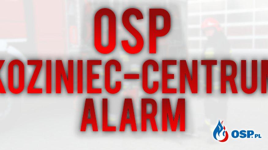 Alarm 37/2020 OSP Ochotnicza Straż Pożarna