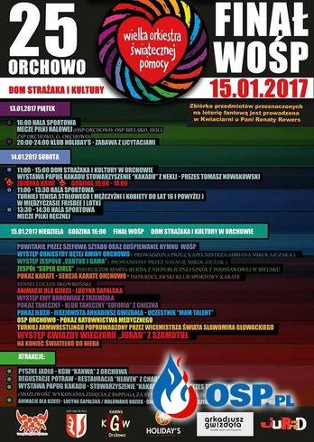 Wielka Orkiestra Świątecznej Pomocy 2017 OSP Ochotnicza Straż Pożarna