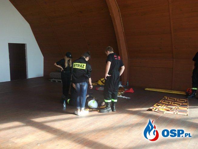 Zajęcia dla MDP z zakresu Kwalifikowanej Pierwszej Pomocy OSP Ochotnicza Straż Pożarna