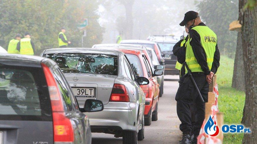 Zabezpieczenie uroczystości odpustowych w Gierzwałdzie  OSP Ochotnicza Straż Pożarna