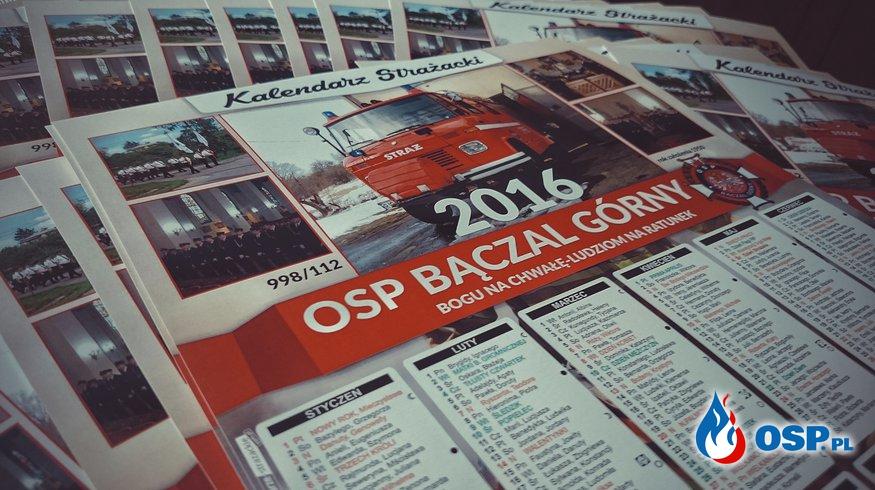 Kalendarz Strażacki 2016 OSP Ochotnicza Straż Pożarna
