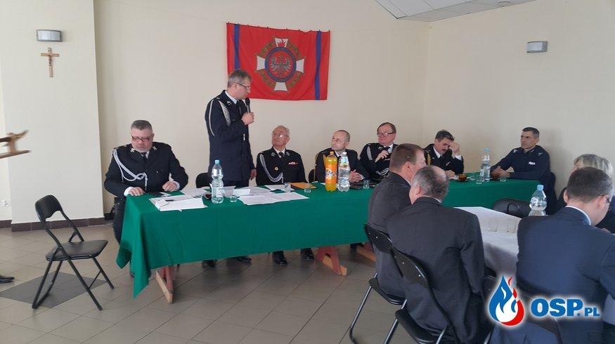 Zjazd Oddziału Gminnego ZOSP RP w Głusku OSP Ochotnicza Straż Pożarna