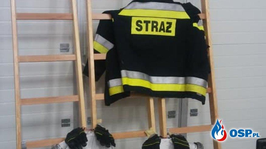 Nowy sprzęt w naszej jednostce! OSP Ochotnicza Straż Pożarna