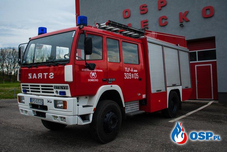 Nowy wóz bojowy OSP Ochotnicza Straż Pożarna