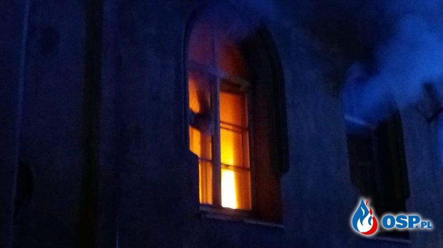 Strażak z OSP Gryfów Śląski zginął w pożarze OSP Ochotnicza Straż Pożarna