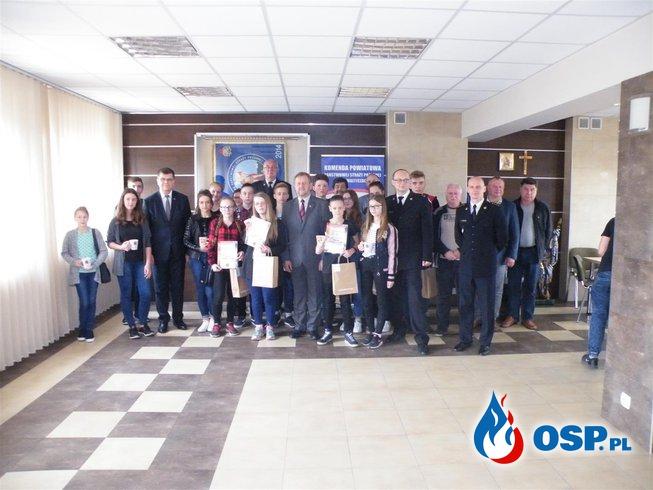 Ogólnopolski Turniej Wiedzy Pożarniczej - eliminacje powiatowe OSP Ochotnicza Straż Pożarna