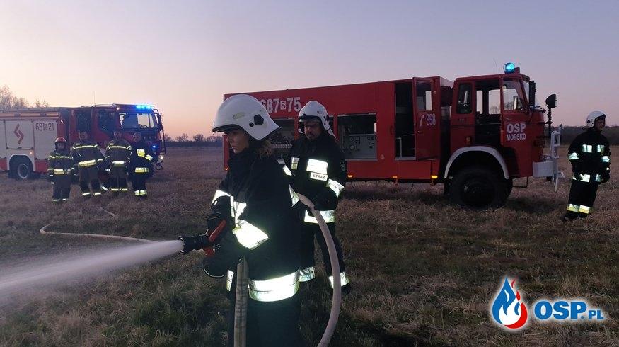 05,04,2020 pożar we Włodowicach OSP Ochotnicza Straż Pożarna