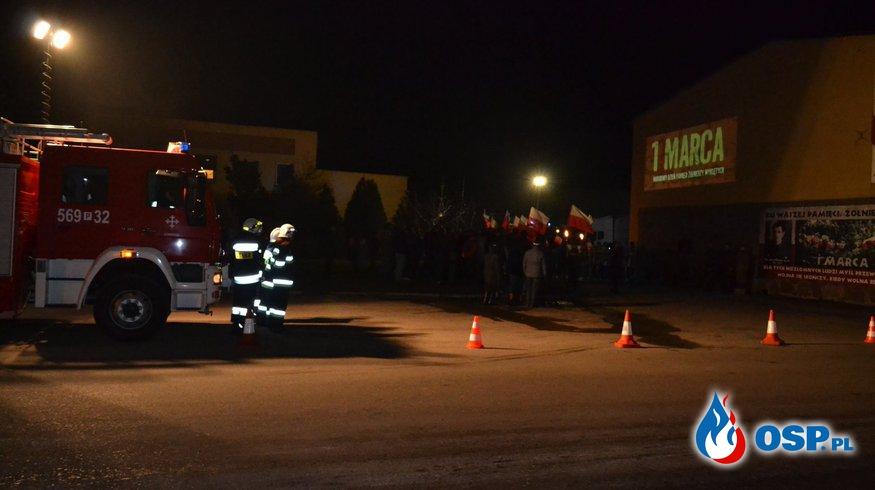 UDZIAŁ W UROCZYSTOŚCIACH OBCHODÓW DNIA ŻOŁNIERZY WYKLĘTYCH OSP Ochotnicza Straż Pożarna