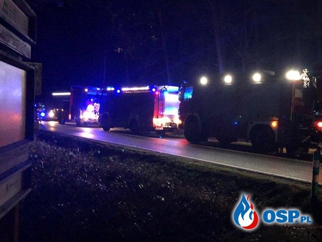 Kolizja drogowa - Droga wojewódzka 780 OSP Ochotnicza Straż Pożarna