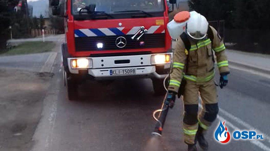 NEUTRALIZACJA PLAMY OSP Ochotnicza Straż Pożarna