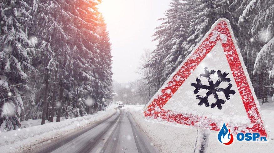 Komunikat ostrzegawczy - silne mrozy OSP Ochotnicza Straż Pożarna