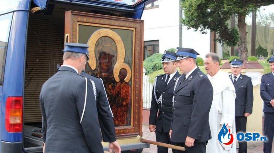 Św. Obraz w naszej parafii OSP Ochotnicza Straż Pożarna