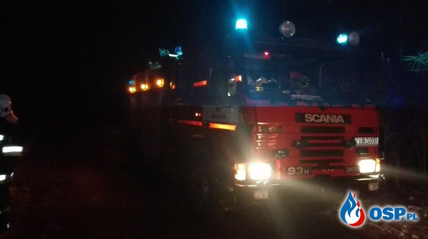 Pożar sadzy w kominie - miejscowość Biała OSP Ochotnicza Straż Pożarna