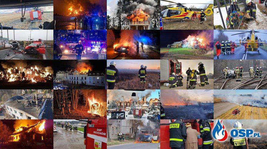 Akcje Ochotniczych Straży Pożarnych z całej Polski! Galeria czytelników na Dzień Strażaka. OSP Ochotnicza Straż Pożarna
