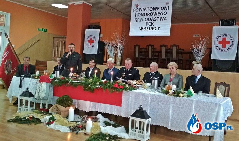 Powiatowe Dni Honorowego Krwiodawstwa PCK w Słupcy OSP Ochotnicza Straż Pożarna