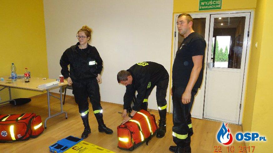 Wronki – kurs kwalifikowanej pierwszej pomocy OSP Ochotnicza Straż Pożarna