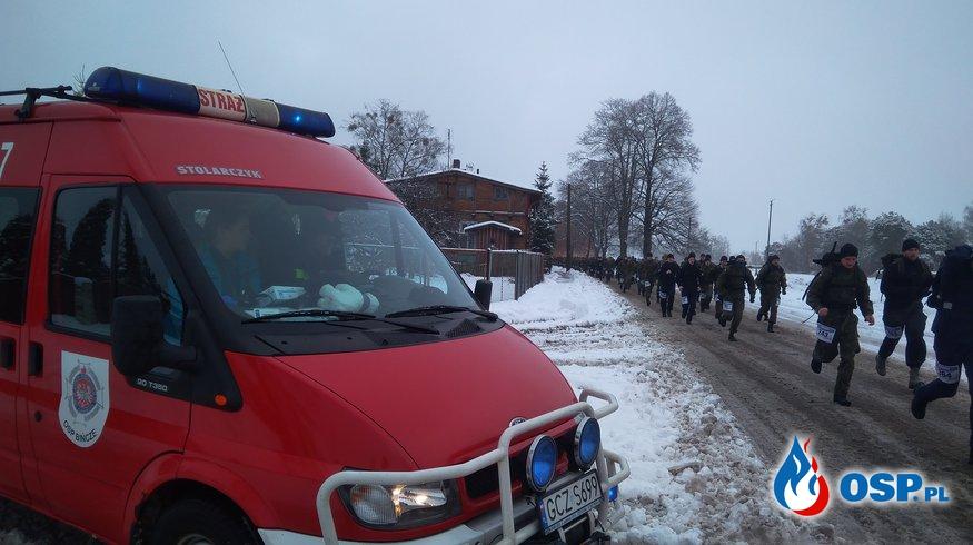 Zabezpieczenie Biegu Komandosa ''Czarno to widzę'' OSP Ochotnicza Straż Pożarna