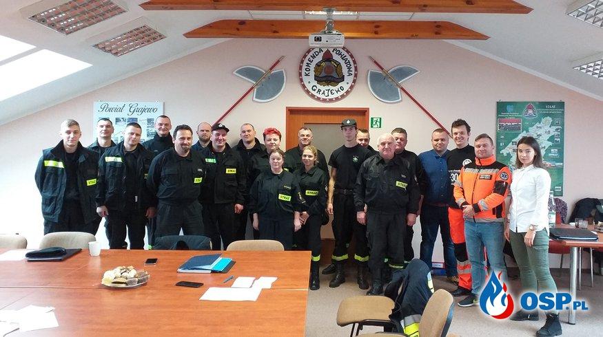 Nowi ratownicy medyczni w OSP Grajewo OSP Ochotnicza Straż Pożarna