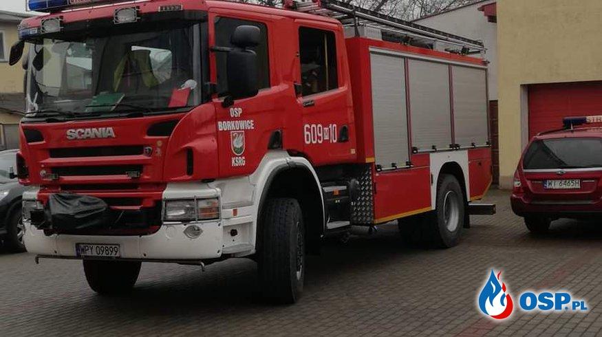 Zabezpieczenie rejonu OSP Ochotnicza Straż Pożarna
