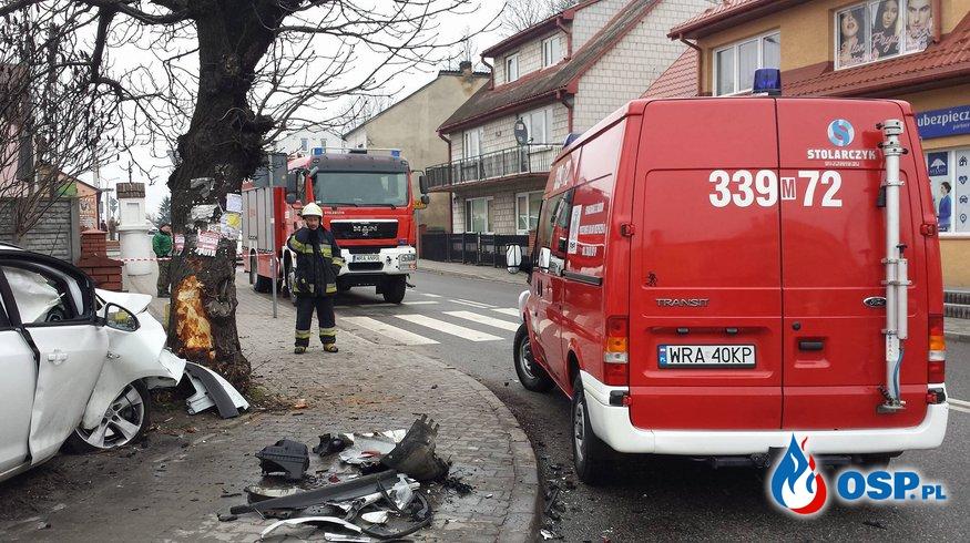 Groźna kolizja w Iłży OSP Ochotnicza Straż Pożarna