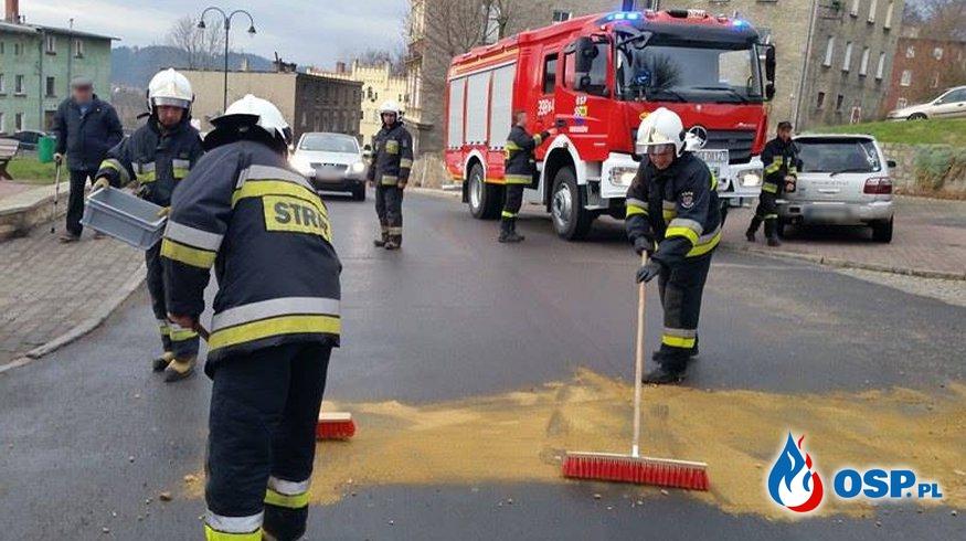 [Boguszów-Gorce] Kolizja trzech samochodów OSP Ochotnicza Straż Pożarna