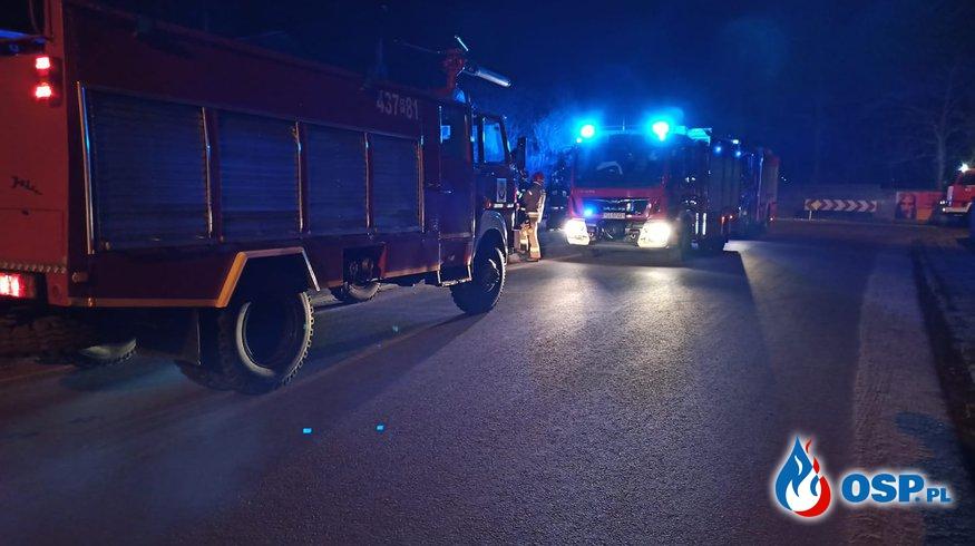 Ulatniający się gaz w Szelejewie Drugim OSP Ochotnicza Straż Pożarna