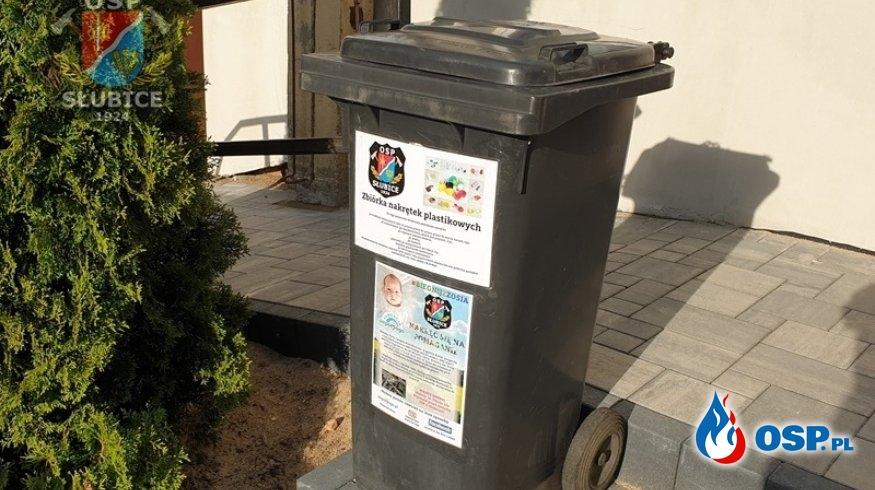 Włączamy się w akcję zbiórki korków dla małej Zosi! OSP Ochotnicza Straż Pożarna