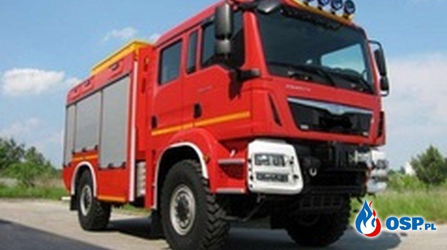 zakupu średniego samochodu OSP Ochotnicza Straż Pożarna