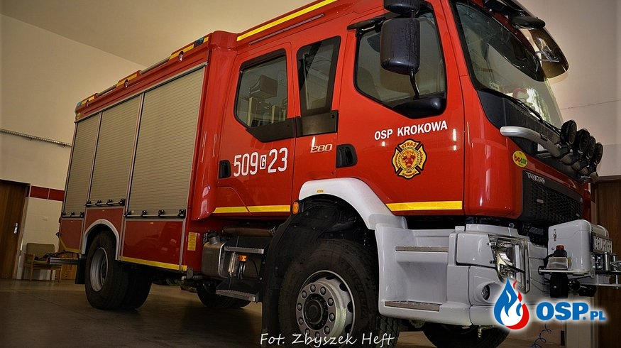 Bocar VOLVO FL 4X4 GBA 3/16 OSP Ochotnicza Straż Pożarna