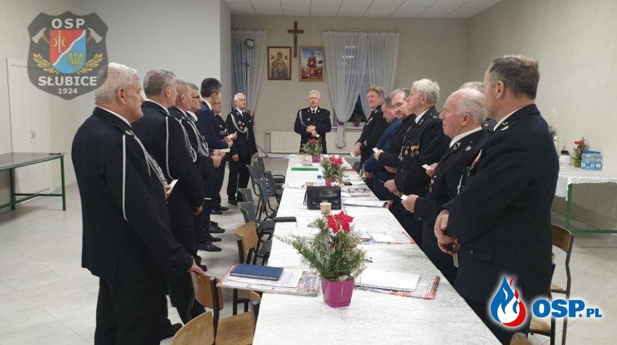 Zarząd Oddziału Gminnego spotkał się w świątecznej atmosferze OSP Ochotnicza Straż Pożarna
