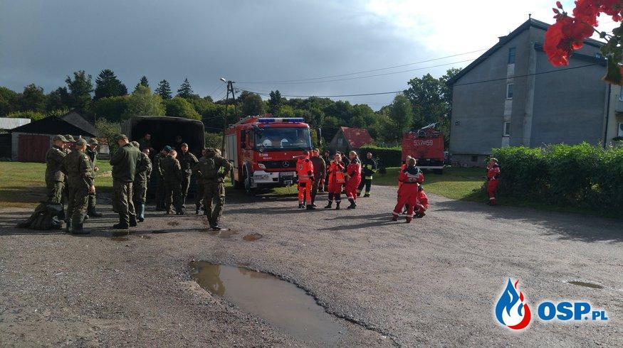 Poszukiwania zaginionej kobiety- Durąg pow.Ostródzki OSP Ochotnicza Straż Pożarna