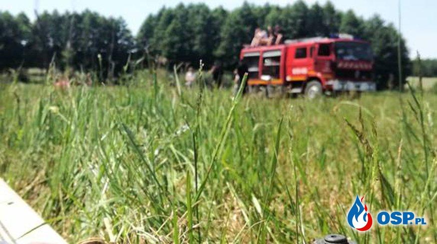 """Strażacka niedziela to dobra niedziela! :) """"wodna artyleria"""" z lotu ptaka + fotorelacja OSP Ochotnicza Straż Pożarna"""