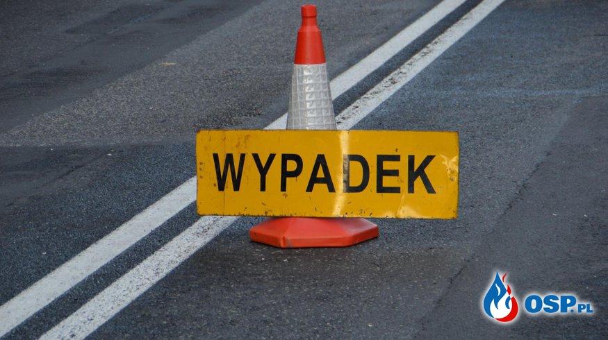 Wypadek 3 samochodów na DK92! OSP Ochotnicza Straż Pożarna