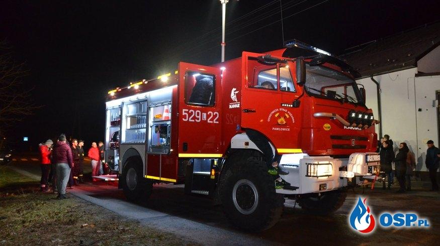 Nowy Kamaz już służy strażakom z OSP Pawłowice OSP Ochotnicza Straż Pożarna