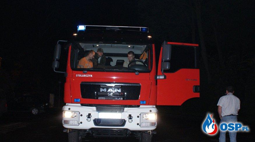 Powitanie MAN-a 2009 r. OSP Ochotnicza Straż Pożarna