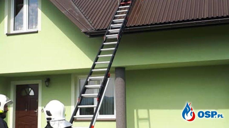 WYŁADOWANIE ATMOSFERYCZNE OSP Ochotnicza Straż Pożarna