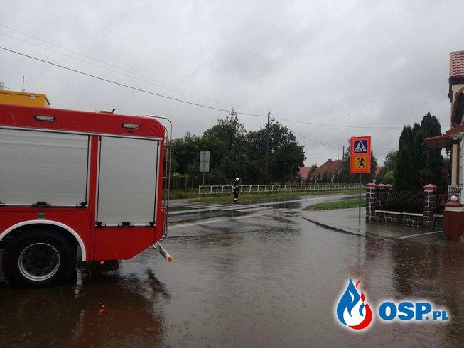 Lokalne podtopienia 18.09.2017 OSP Ochotnicza Straż Pożarna
