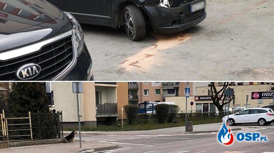 Dwa zdarzenia na ul. Łąkowej OSP Ochotnicza Straż Pożarna