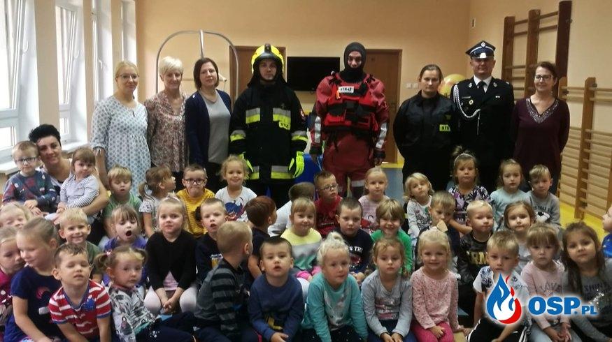 Wizyta w przedszkolu, Kępice 16-09-2019 OSP Ochotnicza Straż Pożarna