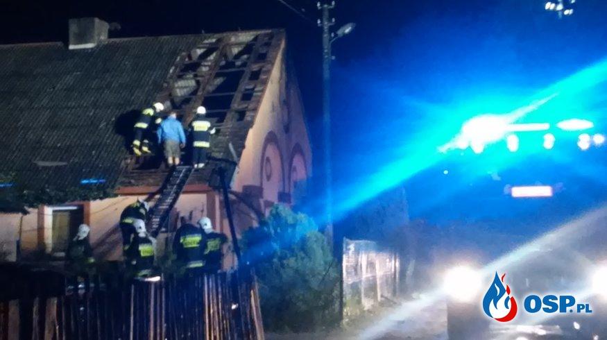 Nawałnica 11 sierpnia OSP Ochotnicza Straż Pożarna