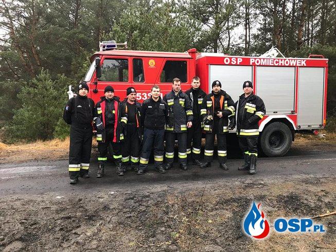 Ćwiczenia na poligonie w miejscowości Grochale Nowe (2017) OSP Ochotnicza Straż Pożarna