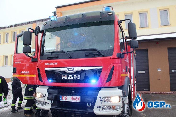 Wielki dzień w historii naszej OSP - nowy wóz MAN TGM GBARt 3,5/25 OSP Ochotnicza Straż Pożarna