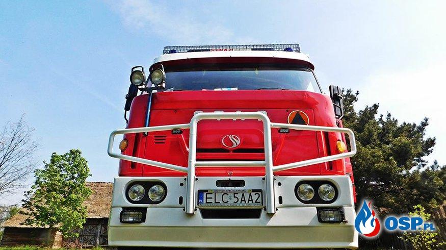 Zabezpieczenie w Maurzycach OSP Ochotnicza Straż Pożarna