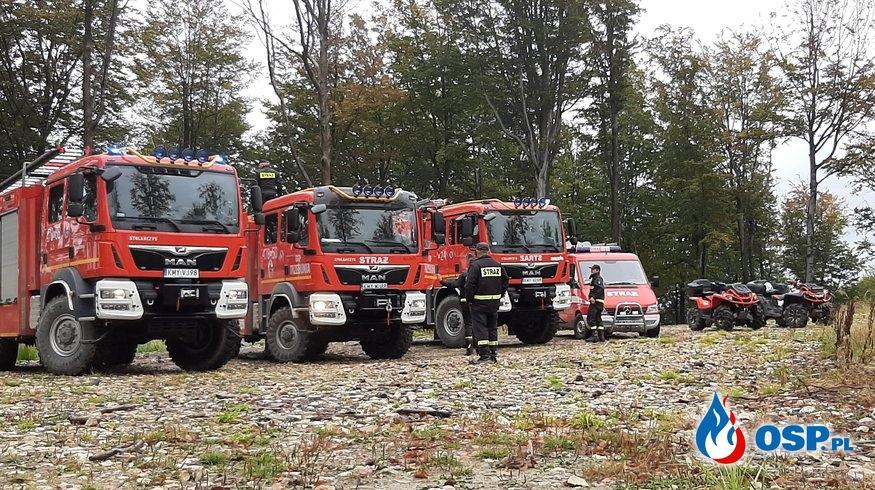 Wyjazd na spotkanie ćwiczebno - integracyjne w Trzebuni OSP Ochotnicza Straż Pożarna