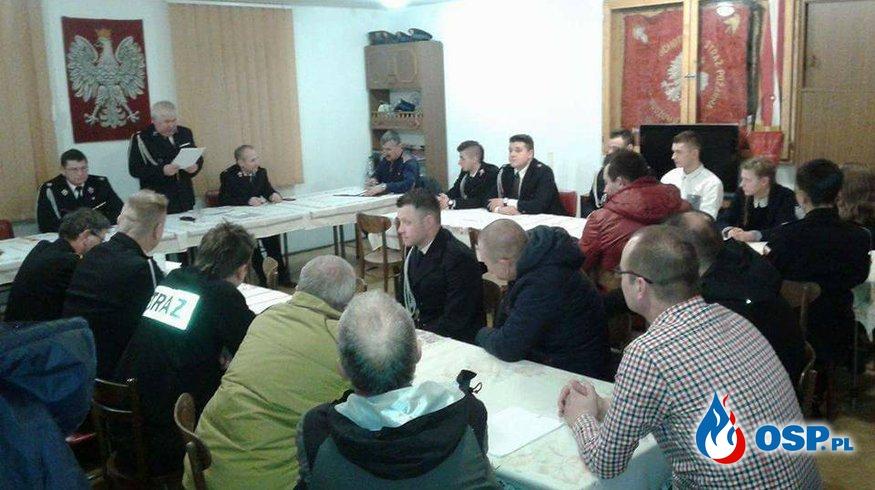 Zebranie Sprawozdawcze ZAPRASZAMY !  OSP Ochotnicza Straż Pożarna