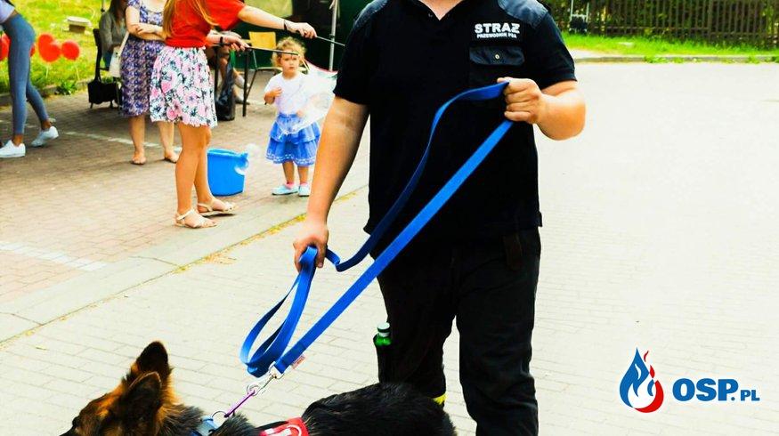 GUBIN! Nasze psiaki odwiedziły tamtejszy festyn Caritas-u OSP Ochotnicza Straż Pożarna