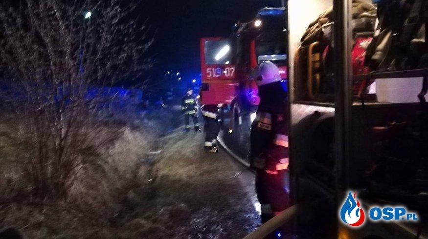 ALARM 02/2018 - POŻAR OSP Ochotnicza Straż Pożarna