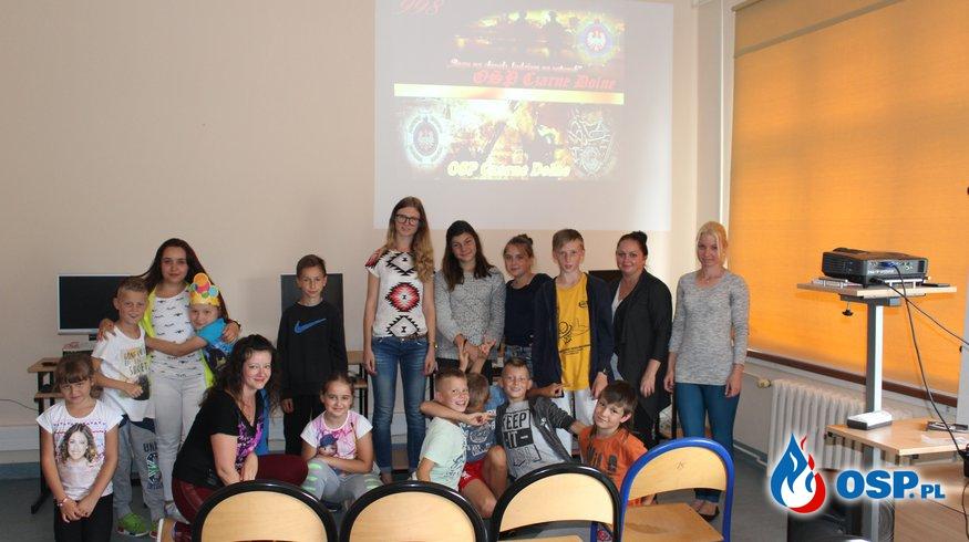 Wizyta w Świetlicy na Hallera w Kwidzynie OSP Ochotnicza Straż Pożarna