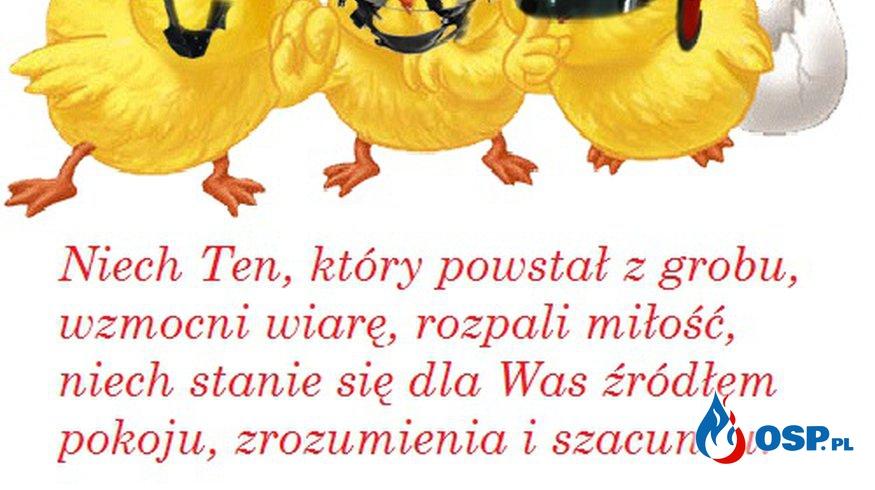 Wesołego Alleluja!!! OSP Ochotnicza Straż Pożarna